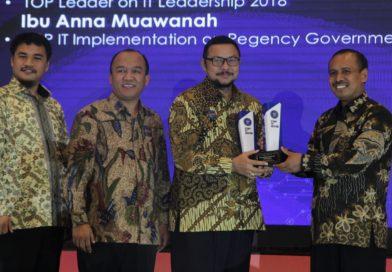 Bojonegoro Raih Top IT Award 2018